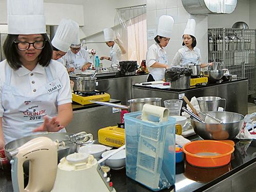 泰萊大學全國廚藝挑戰決賽,是在泰萊大學設備完善和先進的烹飪藝術及食品研究院進行。