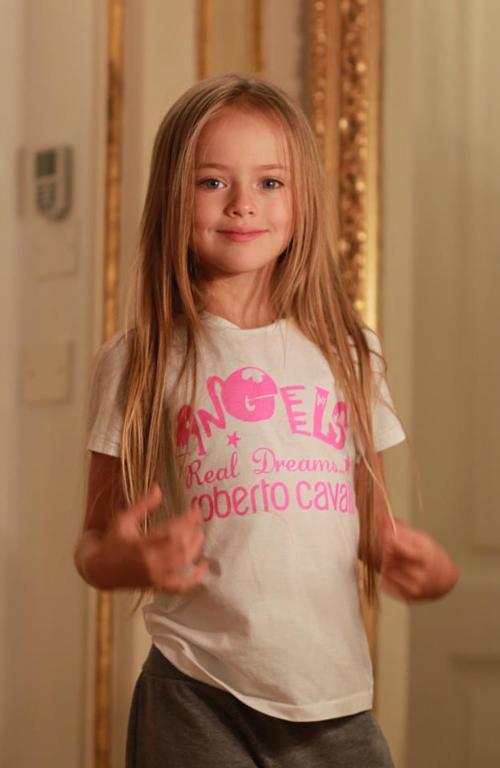 克里斯蒂娜2013年8歲時的照片。
