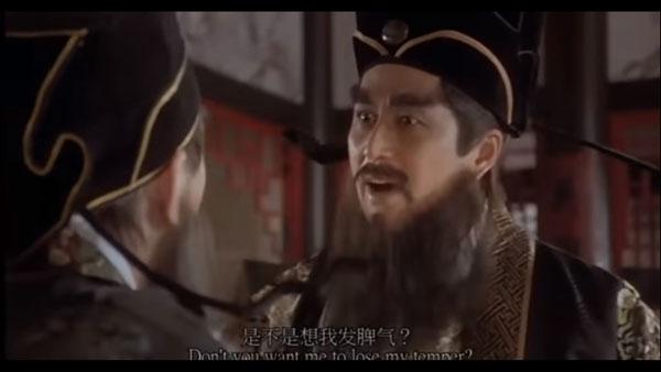 大媽原本想學寧王那樣發飆,最終卻發飆不成啊……