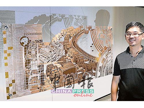 繼兩年前的《黑箱》,劉啟暉再次在東藝館舉辦獨特的藝術展《黑金--房間裡的大象》。