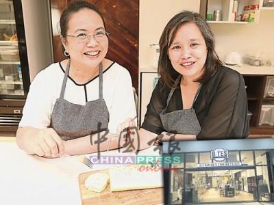▲黃美就和Azliza Hashim表示,烹飪教室平板電腦的教學頁面,除了有照片,還設有製作短片,這讓客人更容易掌握製作技巧,即使連四歲的小朋友,也能做出漂亮又好吃的甜點。