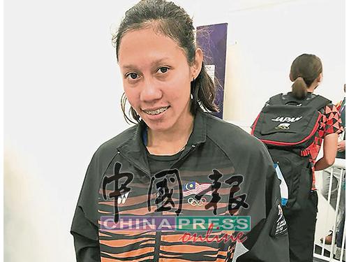 胡斯妮婭力爭在亞運女子100公尺半決賽超越全國紀錄。