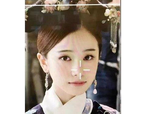 姜梓新在劇中飾演的明玉深受觀眾喜愛,不過她其實曾被《如懿傳》淘汰,圖為《如懿傳》試鏡照。(圖/取自微博)