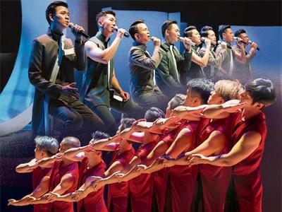 """馬來西亞佛樂男唱團 """"淨世金剛"""",由八位來自聲樂、流行、民歌、音樂劇中具深厚舞台藝術背景的唱將組成,發願以歌聲弘揚智慧法音,傳播慈愛善美和光明。"""