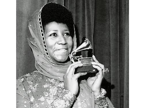 Aretha Franklin曾奪得的格林美獎項達18個之多。