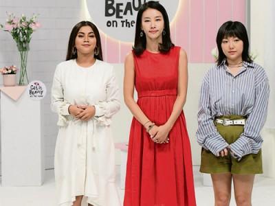 卡卡阿茲拉夫(左起)、金正敏及Min共同主持大馬版時尚美妝節目《走出韓妝教室》。