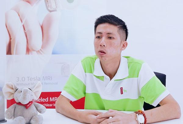 病人郑贾晋本身是患有第二型神经纤维瘤。