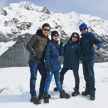 與家人出游,共享天倫之樂,是陳思思最甜蜜的親子時光。
