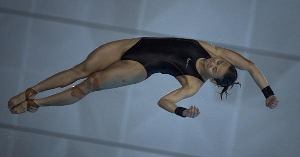 潘德麗拉在6月中國世界杯賽的英姿,希望她能(新華社)