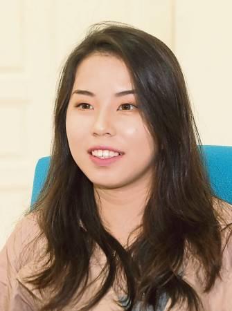蔡修慧(20歲,染織與服裝設計系)