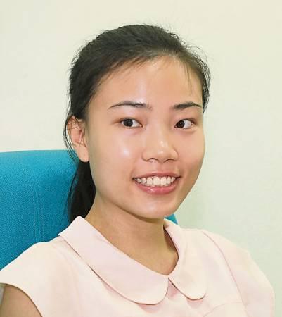 林詩璇(20歲,廣告設計系)