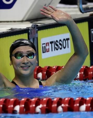 池江璃花子是一位很有自信的選手,這是她踏上成功之路的關鍵之一。(美聯社)