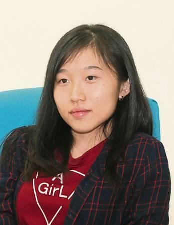 許沛瑩(20歲,室內設計系)