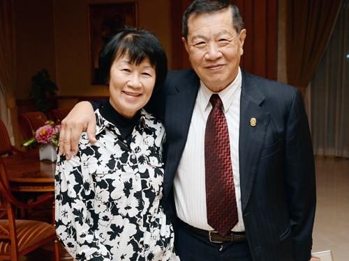 李昌鈺夫婦情牽一甲子。