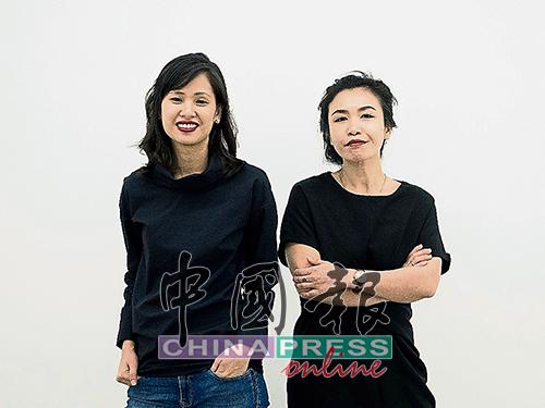 何慧珊(左)與合伙人吳雪麗經營OUR ArtProjects畫廊。