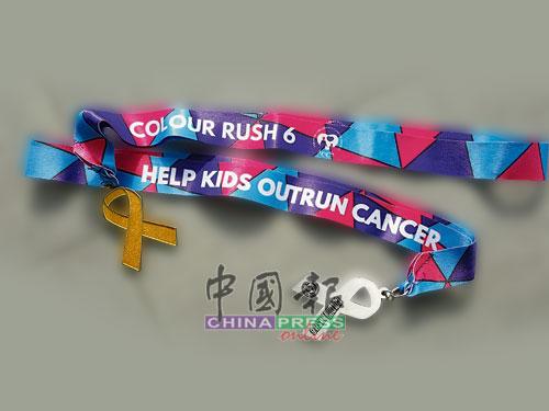 參與Colour Rush可獲的獎牌。