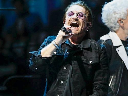 Bono突然失聲,令演唱會被逼腰斬。