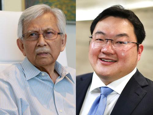 (左)資政理事會主席敦達因   (右)劉特佐