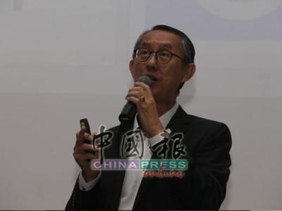 ■馬來西亞漸凍人協會主席黃亞添,呼籲社會大眾和企業組織關愛漸凍症患者。
