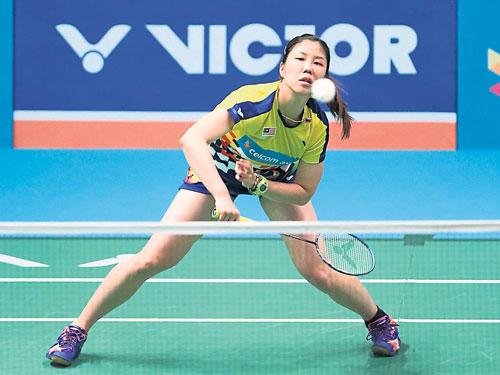 最新世界排名維持在第37位的謝抒芽,在中國公開賽第一圈遇到泰國對手李美妙。(新華社)