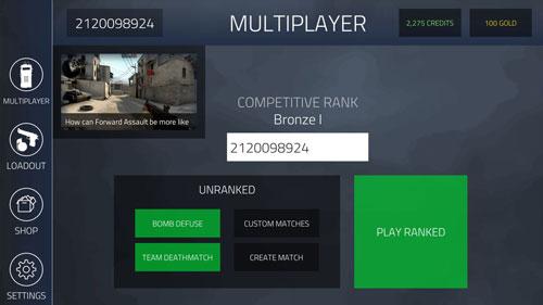 01‧在MULTIPLAYER頁面,右上角可以設置伺服器;在我國的玩家,得設置成Asia,能有效地降低延遲。