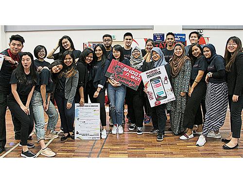 2018年學生才華鑒賞與表揚獎(STAR)活動裡,是學生享受溫暖情誼、認識資深業界人士的大好機會。