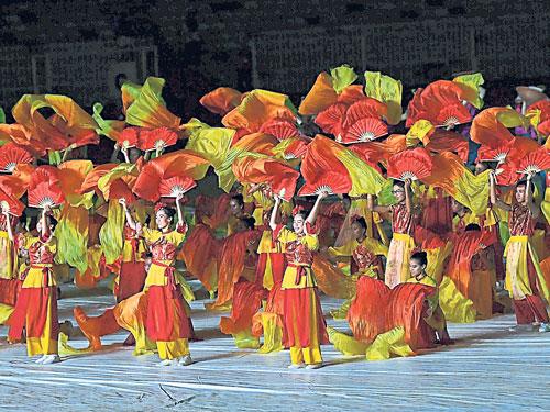馬運會在周二進行開幕禮,預計有3萬名觀眾捧場。