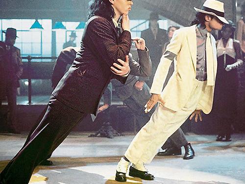 麥可傑遜在1988年《Smooth Criminal》的45度前傾舞步震驚世人。