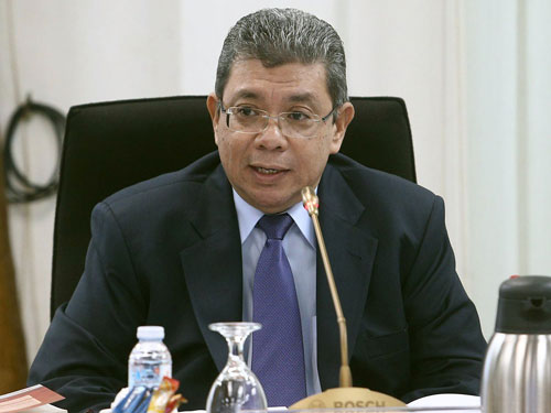 ■外交部長拿督賽夫丁阿都拉(檔案照)