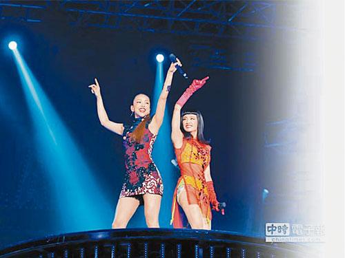安室奈美惠(左)和Jolin有過多次合作。