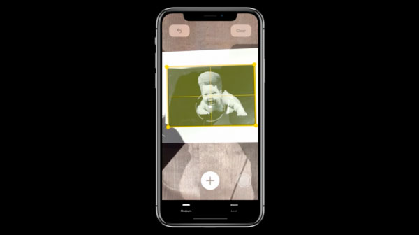新的測量App,能夠透過手機相機,直接測量實體世界中物體的長、寬、高。