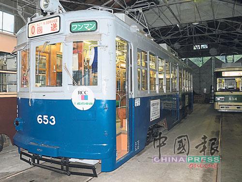 """653号""""被爆电车""""是广岛的重要资产。"""