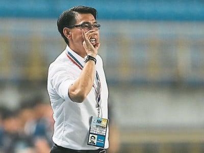 陳清和希望球隊能夠增加穩定性,加強在即將來臨的東南亞錦標賽的衝擊力。(歐新社)