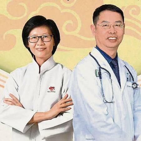 曾愛蒂醫師(左)及吳清凱博士。