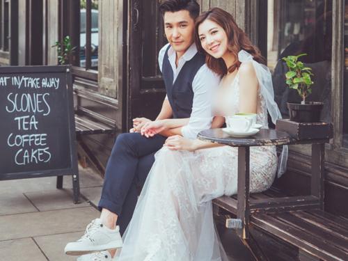 陳展鵬與單文柔將在10月結婚。