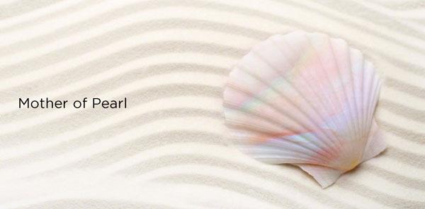 珠光贝母的原型珍珠贝母本是难得的自然渐变色,将其独特的色彩呈现运用在手机上,显得别致独特。