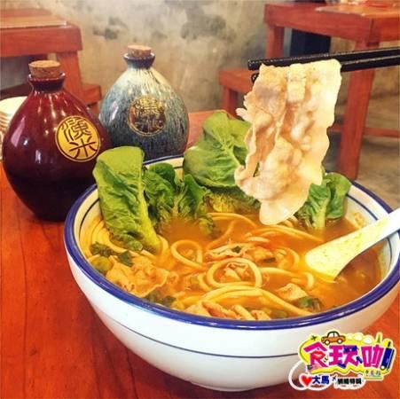 ▲东炎猪肉片米线