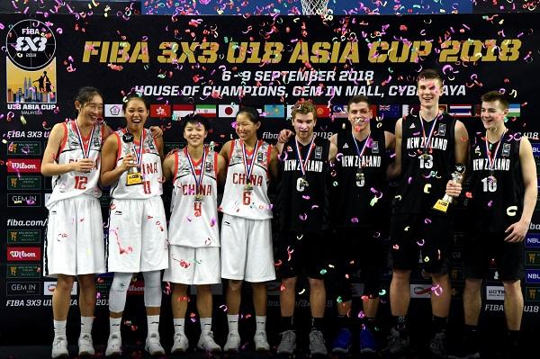 ■紐西蘭男隊與中國女隊奪得亞洲杯青年賽冠軍。