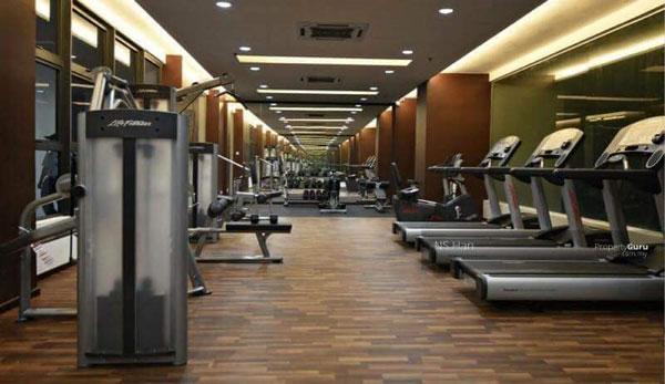 健身房的规模也非常专业,供住客免费使用。