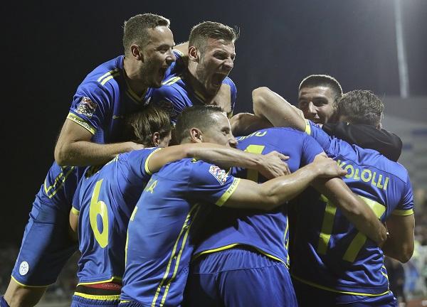 科索沃會是歐洲國家聯賽下的受益者嗎?(歐新社)