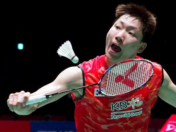 李東根斬下斯里坎殺入半決賽,是近期表現較好的韓國男單。(法新社)