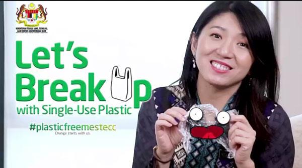 来分手吧!这次分手对象不是任何人,而是一次性塑料。 在这个备受赞赏的视频里,杨美盈提到其部门开会时落实限塑、禁塑的三件事, 你又如何在日常生活中,跟那些塑料说再见呢?