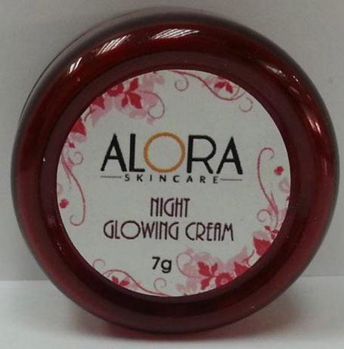 Alora Night Glowing Cream / 苯二酚(hydroquinone)