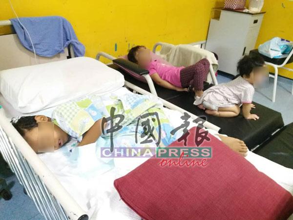 吉隆坡一家巫裔家庭6人也吃了同一档口叻沙出现食物中毒现象。