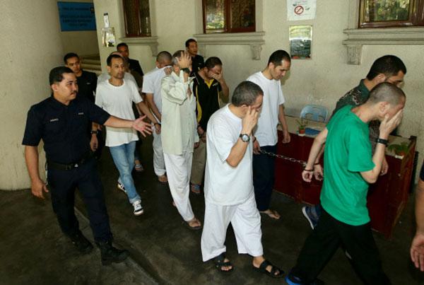 马来西亚政府释放了11名去年非法偷渡进入大马而被扣留的中国维吾尔族人。