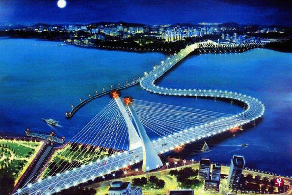 弯桥对新加坡经济有潜在影响。