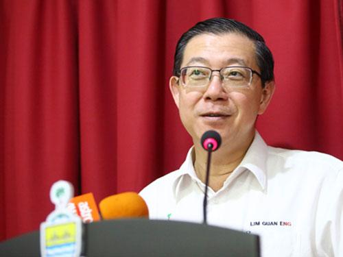 林冠英:MRT2地下段工程被终止是内阁的决定。