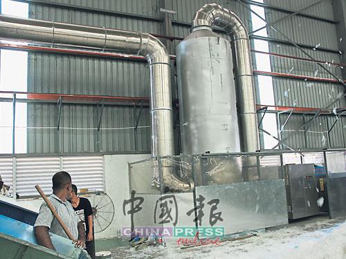 废塑料工厂合格的排烟设备。