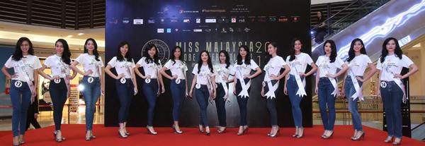各具自信的14位佳丽,到底谁会是本届马来西亚环球国际小姐的后冠得主?