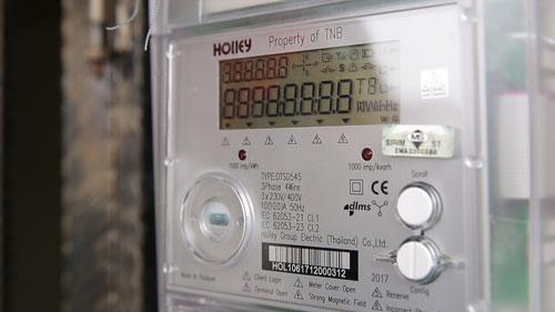 智能電表每半小時更新各單位電流使用量。